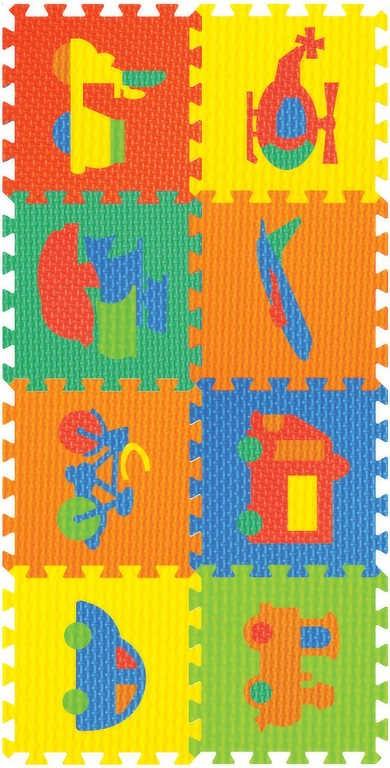 0b4dba883 Koberec (pěnové puzzle) dopravní prostředky