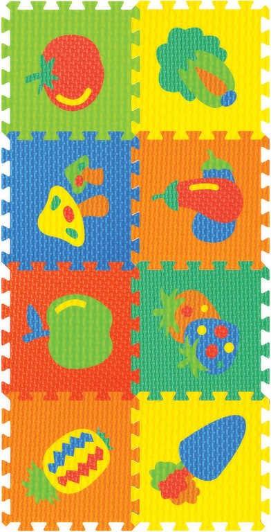 bbe33f6bf Koberec (pěnové puzzle) ovoce, zelenina 8 ks