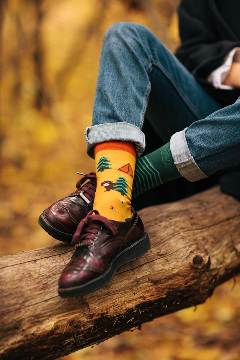 524e43713bb Legrační ponožky Pro milovníky přírody