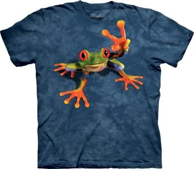 6301a7406ac Vtipná trička - Victory Frog Klikněte pro detailní snímek