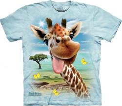 b818ae00631 Dětské tričko - Giraffe Selfie