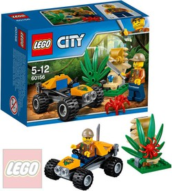LEGO CITY Bugina do džungle 60156 STAVEBNICE