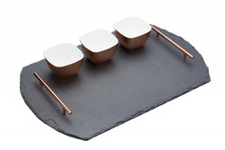 Podložka s miskami <br>KITCHEN CRAFT Artesa / 4pc Serving Set, 55x36cm