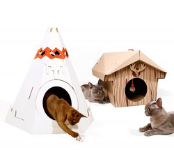 Teepee pro kočku <br>SUCK UK Cat Playhouse