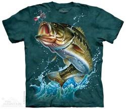 625ceda18c7 Tričko pro rybáře - Bass Mediu