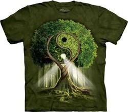 Tričko - Yin Yang Tree ff96166c6c
