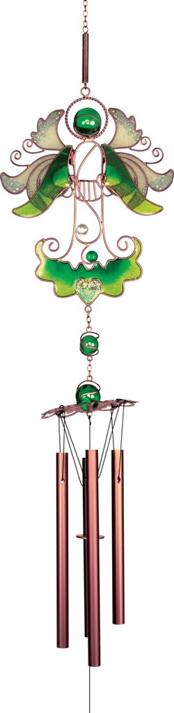 Zvonkohra Graceful Harp Angel Wind Chime by Angel star